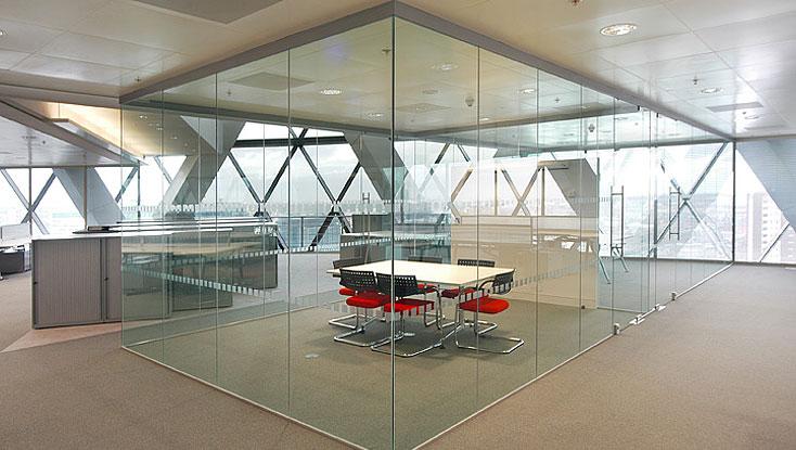 Vách kính văn phòng tại Hải Phòng