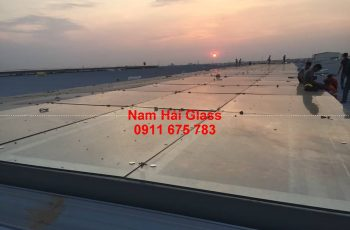 Công trình 3000 m2 mái kính ở Bình Xuyên, Vĩnh Phúc