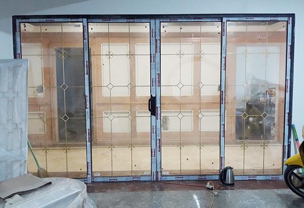 Thi công cửa nhôm kính Xingfa 119 nguyễn đức cảnh Hải Phòng