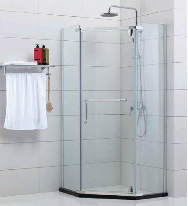 Vách tắm kính mở đẹp, giá rẻ Hải Phòng
