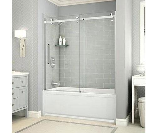 phòng tắm kính lùa fendi fl04