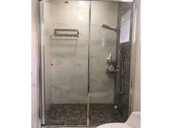 phòng tắm kính lùa fendi fl06