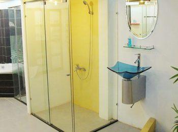 phòng tắm kính lùa fendi fl05