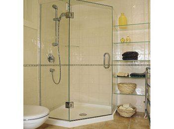 phòng tắm kính mở quay 135 độ