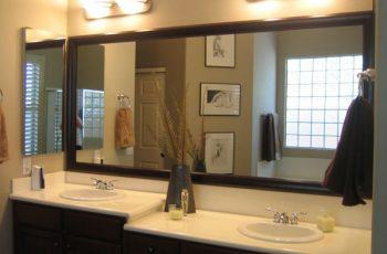 Kinh nghiệm lựa chọn gương cho phòng tắm