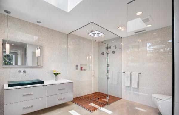 Lưu ý quan trọng khi sử dụng vách kính nhà tắm