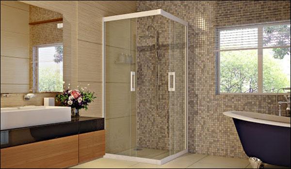 Một số lưu ý khi sử dụng vách tắm kính
