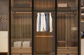 Có nên làm tủ đựng quần áo bằng cánh kính không